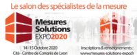 Mesures Solutions Expo 2020 : du 14 au 15 octobre 2020