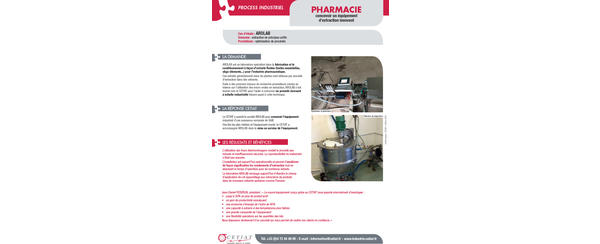 conception-equipement-extraction-innovant
